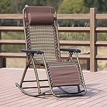 Ali Sommer Schaukelstuhl / Liegestuhl / Klappstuhl / Sessel / Balkon Happy  Stuhl / Senior Lounge