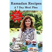 Ramadan Recipes: A 7 Day Meal Plan (English Edition)