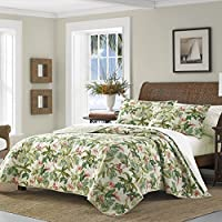 Tommy Bahama Monte Verde Quilt Medium Green Full/Queen