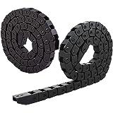 Drag Chain, Liuer 2 STKS 1 M Nylon Flexibele Kabel Drag Chain Genested Semi Gesloten CNC Machine Tool Kabeldraaddrager voor 3