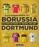 Die Trikots des BVB: Die komplette Geschichte vom Baumwollhemd zum High-End-Produkt. Alles über Trikotwerbung, Sammlerstücke und Kultobjekte.