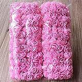 Evisha Artificial Flowers (Pink, 144 Pc)