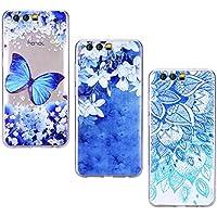Yokata [3 Packs] Huawei Honor 9 Hülle Transparent Silikon Handytasche Handyhülle Schutzhülle TPU Handy Tasche... preisvergleich bei billige-tabletten.eu