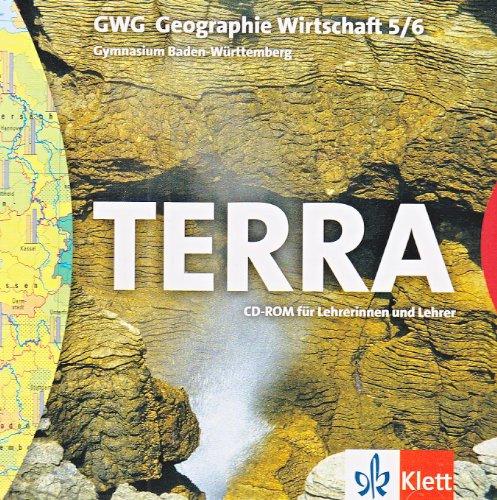 TERRA GWG für Gymnasien in Baden-Württemberg. Geographie - Wirtschaft. CD-ROM für Lehrerinnen und Lehrer 9./10. Schuljahr. Windows XP; NT; 98; 95