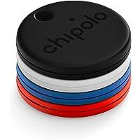 Chipolo One 4-Pack (2020) – Bluetooth Localisateur de clés résistant à l'eau avec Batterie remplaçable