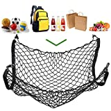Floor Style Nylon Rear Cargo Organizer Car Trunk Storage Net Black