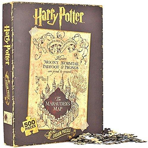 500 piezas Harry Potter merodeadores mapa oficial
