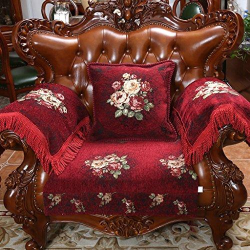 High-end europeo Style antiscivolo cuscino del divano di lusso inverno stoffa Cuscini quattro stagioni set di asciugamani ( dimensioni : 30*50cm (pillow Without Core) )