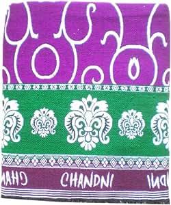 Gangji Mayurpankh solapur chaddar in small designs