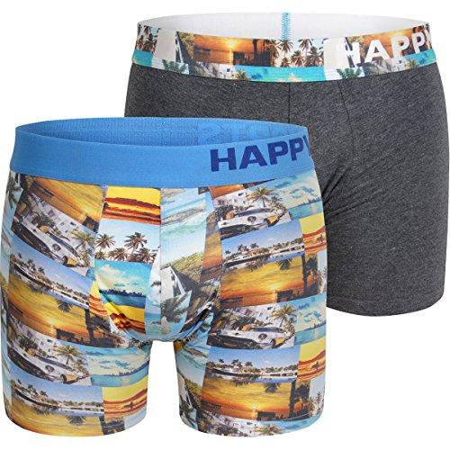 Happy Shorts 2er Set Boxershorts Herren / Retroshorts – Modell: