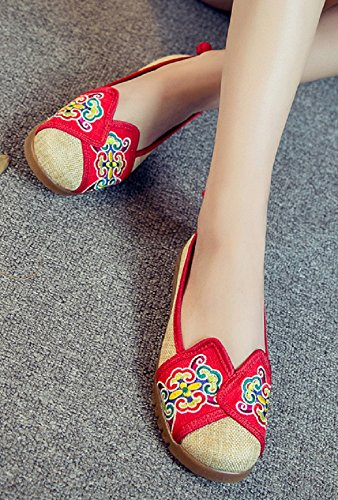 Tianrui Crown - Sandali  donna Red