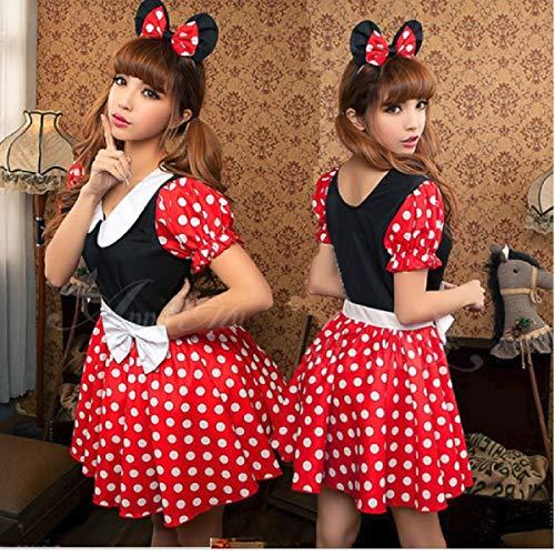 hten Kostüme Halloween Kostüme Außenhandel Anime Performance Kleidung Sexy sexy Dessous niedlich Mickey Spiel Uniform Versuchung ()