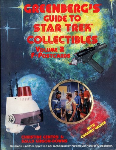 Greenberg's Guide to Star Trek Collectibles: F-Postcards by Christine Gentry (1992-04-02)