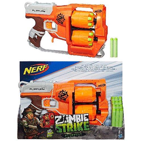 Hasbro Nerf A9603EU4 - Zombie Strike FlipFury, (Zombie Gun)