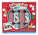 TOYLAND® Pack of 6 - Who Or What I I Christmas Crackers - Christmas Party Games - Cracker di Natale