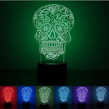Drachenlampe Avec Lampe Plasma À Mort Tête Flash De Kcul1T3FJ