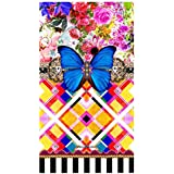 Melli Mello Toalla Playa Zaira Multicolor/Azul/Amarillo 100 x 180 cm