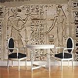 REAGONE Wandbild Tapete Wohnkultur Foto Hintergrund Wand Papier Fotografie Kulturellen Relikte Zivilisationen Ägypten Badezimmer Große Wandbild,250X175 Cm (98.4 By 68.9 In)