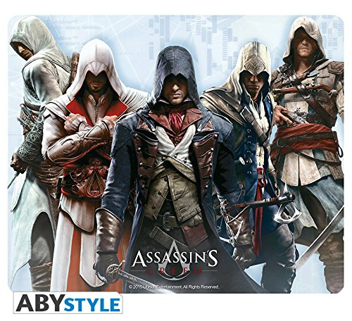 Assassin's Creed Mousepad / Mauspad - Gruppe