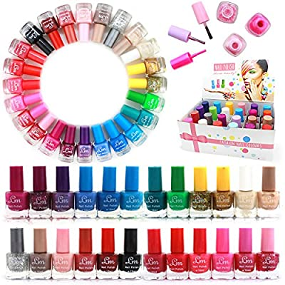 24 x NAIL POLISH VARNISH (SET B) 24 DIFFERENT COLOURS THE BEST GIFT UK