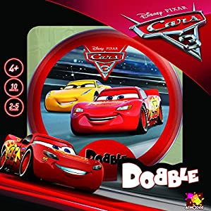 Asmodee editions Dobble Kids Cars 3juego
