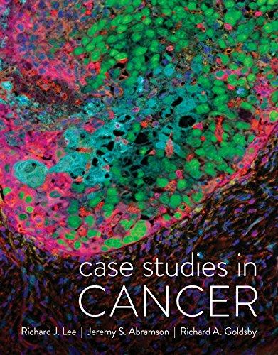 Case Studies in Cancer por Richard J. Lee