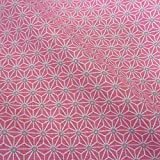 Stoff Baumwollstoff Meterware rosa grau weiß Japan Asanoha Graphik