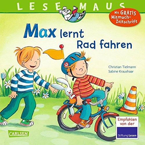 Preisvergleich Produktbild LESEMAUS 20: Max lernt Rad fahren