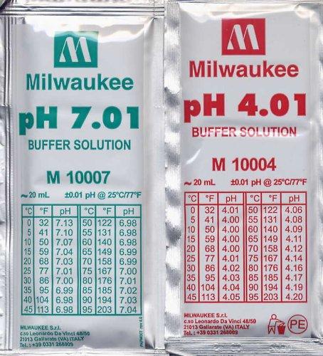 Kalibrierkit pH 5 x 4,01 und 5 x 7,01 20 ml Beutel [Misc.] -