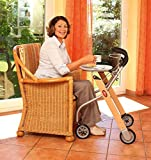 Trust Care Indoor Rollator Let's Go Holz - 2