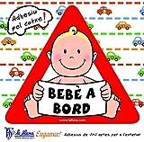 Detalles Infantiles - Bebé a bord nen. triangle adhesiu per al cotxe