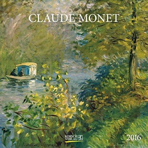 Claude Monet 2016: Broschürenkalender mit Ferienterminen