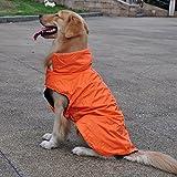 Yahee365 Hundemantel Regenmantel Hund Hundebekleidung Hundejacke Wintermantel Regenjacke