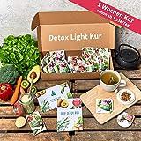 Detox-Kur (Light Version) | 1-Woche | 100% Vegan | 21 Superfood-Produkte | Entgiftung | Abnehmen | Body-Cleanse | Vitalität | 3 Produkte/Tag | Basischer Ernährungsplan + tägliche 3 Detox-Rezepte