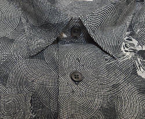 Haupt - Chemise casual - À Carreaux - Homme Noir