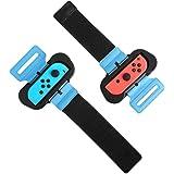 MoKo [2 PZS Correa de Muñeca Compatible con Joy-con Nintendo Switch Just Dance 2021/2020 y Zumba, Banda de Muñeca Elástica Có