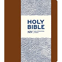 NIV Journalling Brown Imitation Leather Bible with Clasp (New International Version)