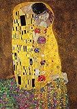 Poster Gustav Klimt Der Kuss - Größe 61 x 91,5 cm - Maxiposter