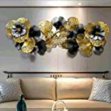 AHD-223 Astro Home Abstract Metal Wall Art Decoration Perfect for Home Decor, Bedroom Design, Living Room Decor (Size-60x28 I