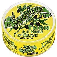 Le Savoureux - Thon à l'huile d'olive vierge extra - La boite de 160g - Prix Unitaire - Livraison Gratuit Sous...