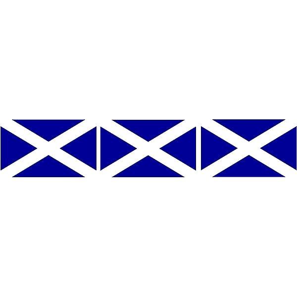 Michael Rene Pflüger Barmstedt 2 5x4 Cm 3x Mini Aufkleber Fahne Flagge Von Schottland Sticker Auto Motorrad Fahrrad Autoaufkleber Auto
