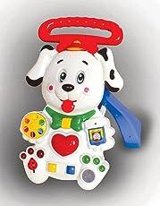 Toyzone EDU Dalmatian Puppy Walker, Red