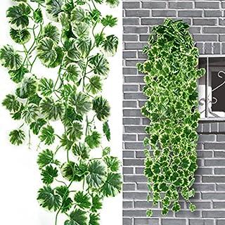 Künstliche Kunstpflanze Pflanze Girlande Busch Ranke Pflanze Hänger (Begonia Hänger)