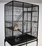 TOP1 XXL Nagervoliere für Hamster, Mäuse, Ratten, Chinchilla