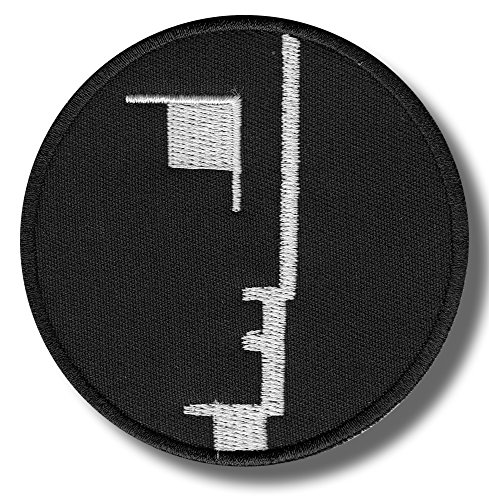 Bauhaus - embroidered patch, 8 X 8 cm. by Patch shop