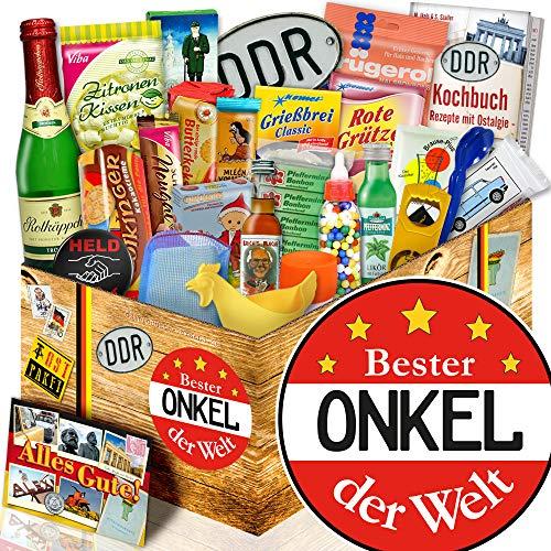 Bester Onkel | DDR Box 24er Allerlei | Geschenk bester Onkel zum Geburtstag