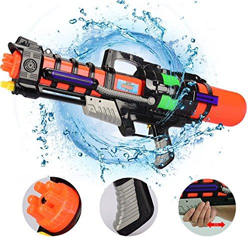 CHRRI Super Wasserpistole, Hand Wasserpistole Spielzeug Mächtige Wasserpistole Strandgarten Pool Party und Outdoor-Aktivitäten