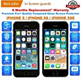 Best Glass Screen Protector I Phone 5s - iONiQ Tempered Glass Screen Protector With Installation Kit Review