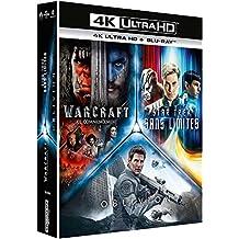 Coffret science-fiction 3 films : star trek sans limites ; warcraft, le commencement ; oblivion 4k ultra hd