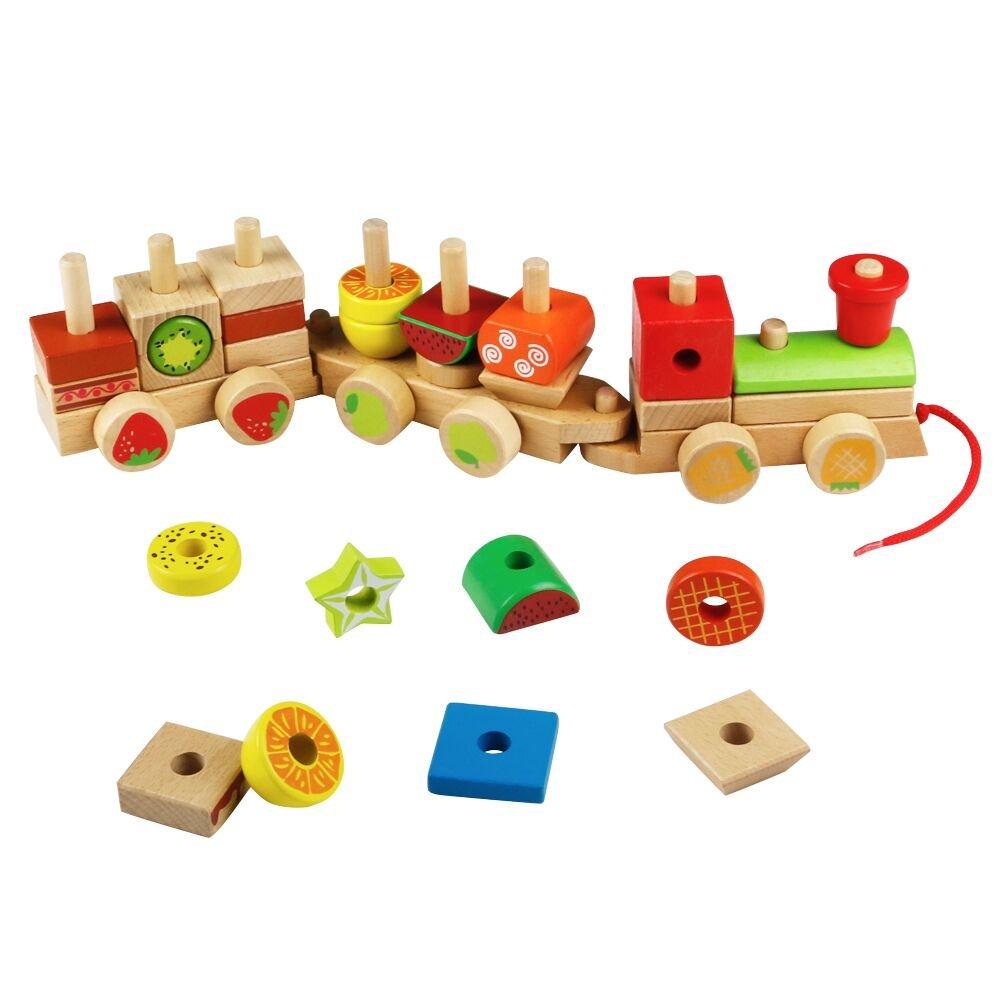 jerryvon Taglio Frutta Verdura Bambini Legno Giocattoli di Taglio per  Bambini Accessori Cucina - Giochi Legno
